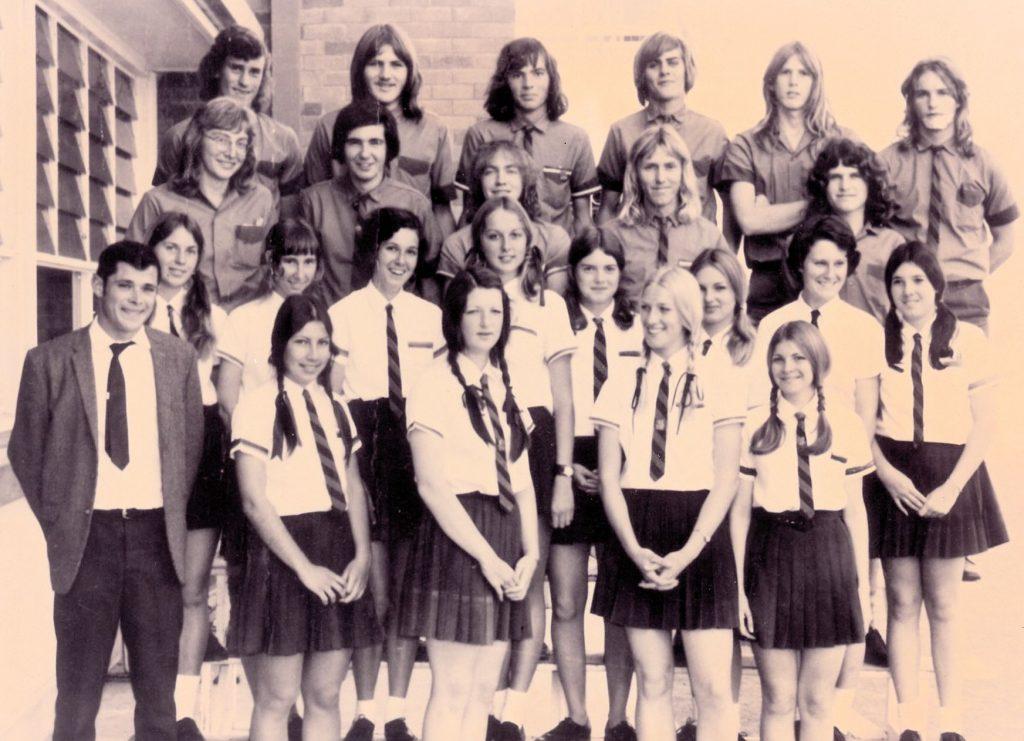 Grade 12C in 1972.