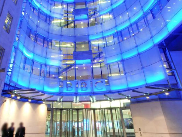 The BBC's London building.