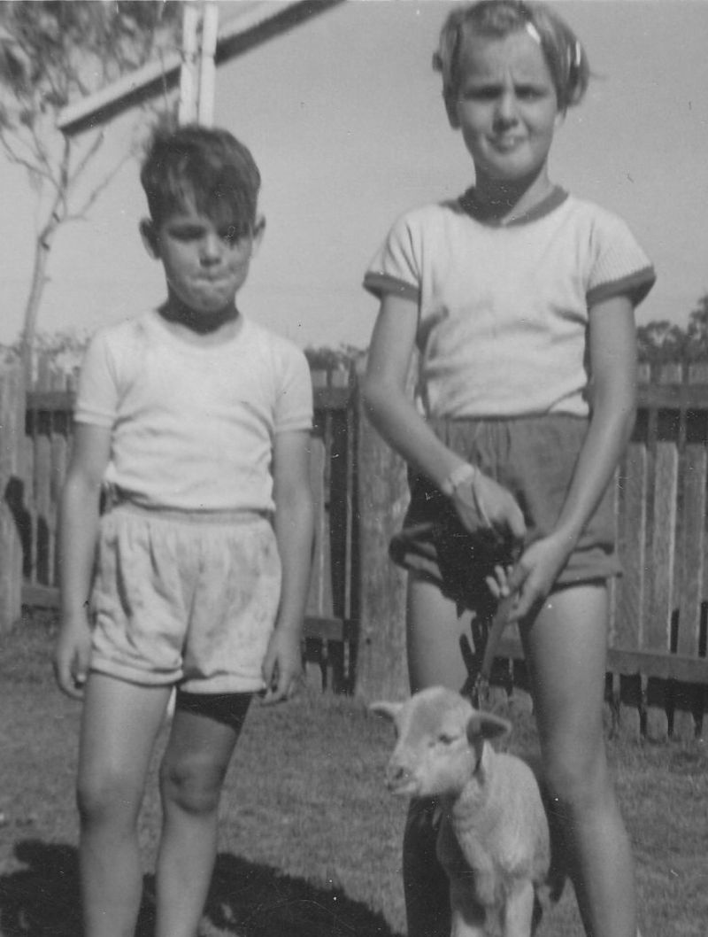 Warren and Denise Nunn at Benaraby in 1960.