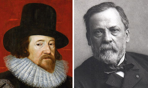 Bacon and Pasteur