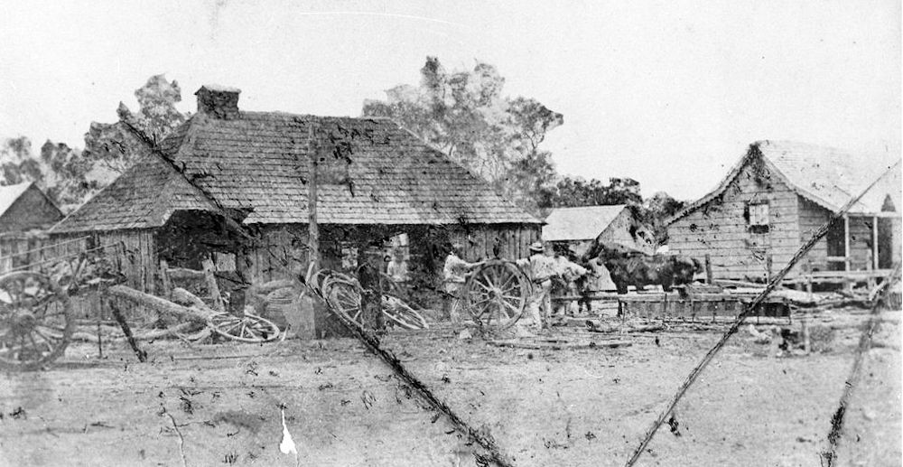 William Orchard's blacksmith shop