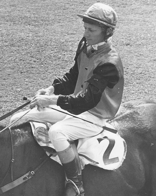 Len Ryan aboard Tanavar Callaghan Park 1973.
