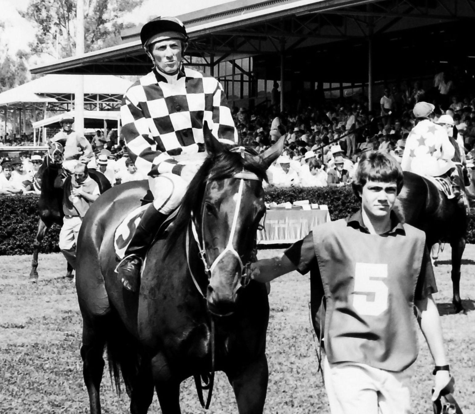 Jockey Wally Welburn